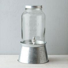 Terrain Bucket Stand Beverage Dispenser #shopterrain