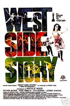 Spanish movie poster image for West Side Story The image measures 1134 * 1695 pixels and is 294 kilobytes large. Iconic Movie Posters, Cinema Posters, Iconic Movies, Hd Movies, Movies And Tv Shows, Real Movies, Classic Movies, Disney Movies, Rita Moreno
