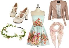 """flowers"" by morgan-eva on Polyvore"