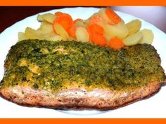 Losos na masle a bylinkách Russian Recipes, Baked Potato, Broccoli, Vitamins, Food And Drink, Healthy Recipes, Homemade, Vegetables, Ethnic Recipes