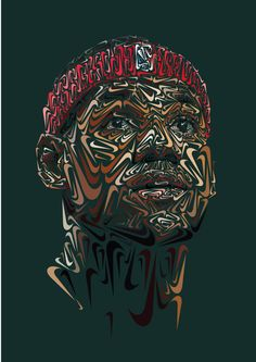 Nike Swoosh Portraits of Paul Rodriguez, LeBron James and Tiger Woods: Having recently caught the attention of one LeBron James (seen here), today we present a deeper Basketball Art, Basketball Players, Basketball Legends, Basketball Jones, Basketball Shirts, Tiger Woods, Nike Outfits, Logo Nike, Nike Swoosh Logo