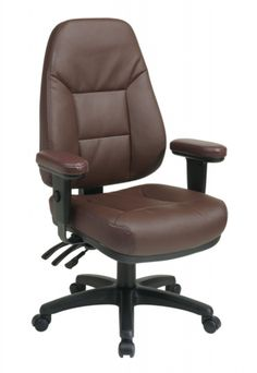 Office Star Professional Dual Function Ergonomic High Back Eco Leather Office Chair, Burgundy High Back Office Chair, Swivel Office Chair, Ergonomic Office Chair, High Back Chairs, Executive Office Chairs, Home Office Chairs, Conference Room Chairs, Office Star, Office Seating