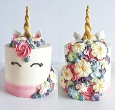 wont ever tire of making these beauties. ✨ Its so nice to see so many variations of the Unicorn cake- I like mine to wear lots of flowers in her hair. Thank you Jenna Rae, for launching this trend into the cakery universe. Pretty Cakes, Cute Cakes, Beautiful Cakes, Amazing Cakes, Yummy Cakes, Unicorn Birthday Parties, Unicorn Party, Cake Birthday, Birthday Ideas