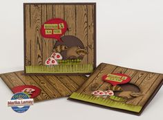 Hardwood et Life in the forest Stampin' Up!