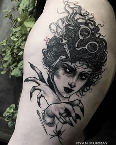 """1337tattoos: """"Ryan Murray """" Tattoo Now, Real Tattoo, Dark Tattoo, Black Tattoos, Body Art Tattoos, Sleeve Tattoos, Cool Tattoos, Random Tattoos, Portrait Tattoos"""