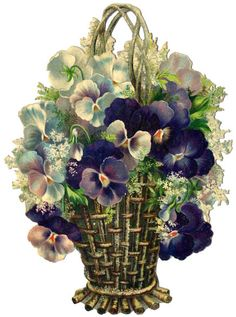 Victorian Flowers Scrap ♥
