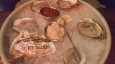 Oysters on the half-shell, Durgin Park  |  340 Faneuil Hall Market Place, Boston, MA 02109