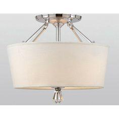 Deluxe Semi Flush Quoizel Semi Flush  Ceiling Lighting, 290