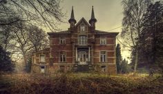 Andre Govia is a London-based photographer who documents haunting scenes from abandoned locations — hospitals, schools, houses, hotels, asylums.