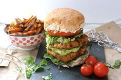A healthy and spicy vegan Mexican burger. Good enough to stop any fast-food cravings! Dairy free, gluten free, vegan.