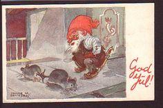 trygve davidsen | Trygve M.Davidsen: Nisse har knyttet sammen halene på 2 rotter ...