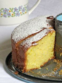 Receita de Torta dos Sete Potinhos Perfumada com Cítricos (Torta dei 7 Vasetti Profumata Agli Agrumi) Fonte da imagem:ilcucchiaiodo...