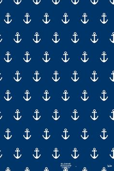 Navy and white anchor Backround