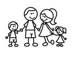 familia dibujo infantil - Buscar con Google