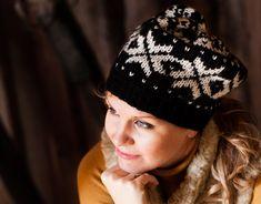 Kirjoneulepipo naiselle – Katso neuleohjeet: Kotiliesi.fi - Knit beanie