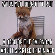 True Life Story... #fail #paralegal #legal #lawoffice I made this meme in honor of my f* up.