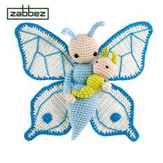 Häkelanleitung Amigurumi Puppe Schmetterling Bree PDF von Zabbez