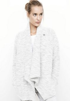 """Spa Holiday Gift Guide 2014: Chilly winter nights are no match for the comfiest sweater ever made. Purchase """"The Blizzard"""" cardigan at The Spa at Four Seasons Hotel Los Angeles at Beverly Hills. #FSSparkle"""