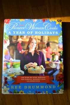 @Amiyrah Greathouse Greathouse @ 4 Hats and Frugal loves @Irina Avrutova Dasani Drummond   The Pioneer Woman new holiday cook book!