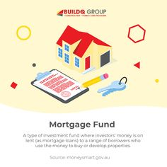 Ever wondered what a mortgage fund is? Here's a definition from moneysmart.gov.au. What other terms would you want to know about #realestate? #property #propertymarketing #realestateagent #realestatemanagement #house #terms #mortgagefund #terminologyTuesdays #investment #propertyinvestment Investment Property, The Borrowers, Investing