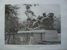 Artillery Group of the Grant Monument, Washington, DC, 1914, E.P. Casey & H.M. Shrady, Sculptor