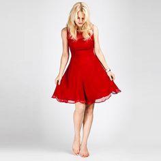 Neola Sheer Panel Silk Chiffon Dress notonthehighstreet.com
