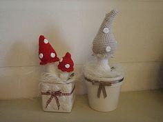 Crocheted Toadstool Mushroom Amigurumi - FREE Crochet Pattern and Tutorial by Brittas Ami