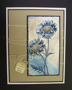 field flowers stamp