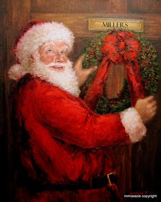 ***Santa delivering to my daughter and her family..The Millers..