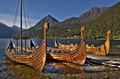 Vikingships by Askjell on DeviantArt