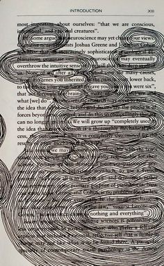 kinf of a found poetry poem. I love this activity! My former students have created some beautiful poetry with this style. Motif Simple, Found Poetry, Blackout Poetry, Arte Sketchbook, Sketchbook Ideas, Poetry Art, Poetry Poem, Beautiful Poetry, Art Plastique