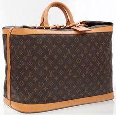 Louis Vuitton Classic Monogram Sac Cruiser 45 Travel Bag