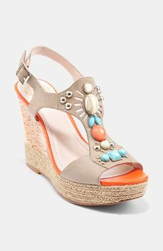 Vince Camuto 'Tovia' Wedge Sandal available at #Nordstrom