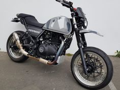 We decided that the Royal Enfield Himalayan would be a great bike to modify. So we set about thinking which direction to go, should we do a madly aggressive scrambler? Nah, we've done quite a few scra Motorcycle Humor, Motorcycle Types, Custom Motorcycles, Custom Bikes, Himalayan Royal Enfield, Royal Enfield Modified, Digital Dashboard, Motorcycle Wallpaper, Offroader