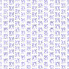 Shop Grot Window in blue fabric by SarahWeldonFRGS at WeaveUp - custom fabric