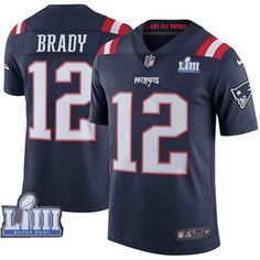 4f012cfcb0e Nike New England #Patriots 12 Tom #Brady Navy #2019 #SuperBowl LIII Color