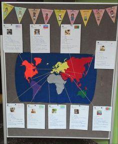 In meiner dritten Klasse habe ich gerade das Thema Kinder aus aller Welt behandelt. Dazu habe ich einen STECKBRIEF entworfen, den die Schü...