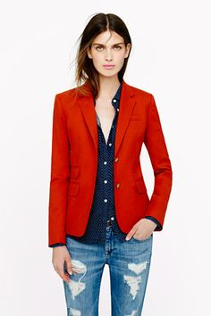 Sharpen Your Silhouette With These 10 Perfectly Tailored J.Crew Blazers #refinery29