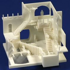 3D Printed Architecture.  9 Apps To Easily Make 3D Printable Objects; Escher graphics.