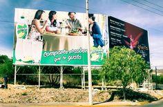 Smartboxs Anuncios #Espectaculares Campaña Limonada 7up Sitio Camino Antiguo a la Presa San Luis Potosí  Contacto direccion@smartboxs.com.mx