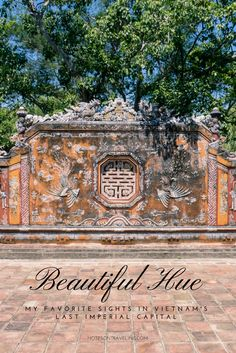 After spending a few weeks in Hue, the last imperial capital of Vietnam, these are my absolute must-dos for a or itinerary. Plus logistics advice. China Travel, India Travel, Thailand Travel, Japan Travel, Fun Travel, Travel Tips, Backpacking Asia, Thing 1, Amazing Destinations