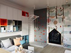 kids room needs to be fun. check my out of box kids room ideas - kids room needs to be fun. check my out of box kids room ideas Creative Kids Rooms, Cool Kids Rooms, Boys Bedroom Decor, Girls Bedroom, Kids Room Design, Kid Spaces, Girl Room, Room Inspiration, Fun Ideas