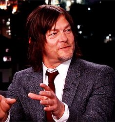 Norman, #cuteReedus