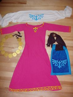 Skyward Sword Zelda costume by Lamberblamber on deviantART