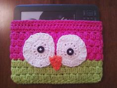 Owl ereader case to crochet.   My next project