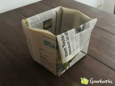 Plastik Recycling, Do It Yourself Upcycling, Green Life, Upcycle, Paper Crafts, Creative, Organization, Fold Clothes, Diy Crafts Home
