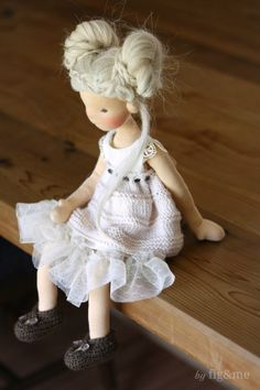 Cygnet in her new clothes, by Fig and me.