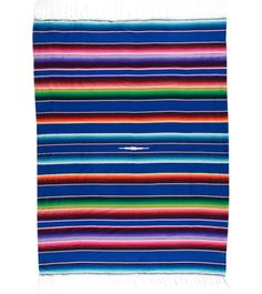 Native Large Mexican Serape Blanket at YogaOutlet.com – The Web's most popular yoga shop