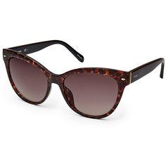 Designer Clothes, Shoes & Bags for Women Sunnies, Sunglasses, Eye Frames, Cat Eye Glasses, Fossil, Eyewear, Shoe Bag, Polyvore, Lens