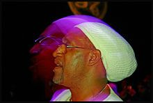 DJ Kool Herc, one of the founding fathers of Dico Rap/ Hip Hop
